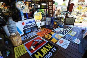 Garagenalia,signs tins bottles tops &more Smithfield Parramatta Area Preview