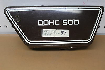 1976 1977 <em>YAMAHA</em> XS500 RIGHT SIDE COVER FAIRING COWL YTPU83