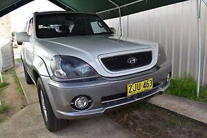 2004 Hyundai Terracan Wagon Merrylands Parramatta Area Preview