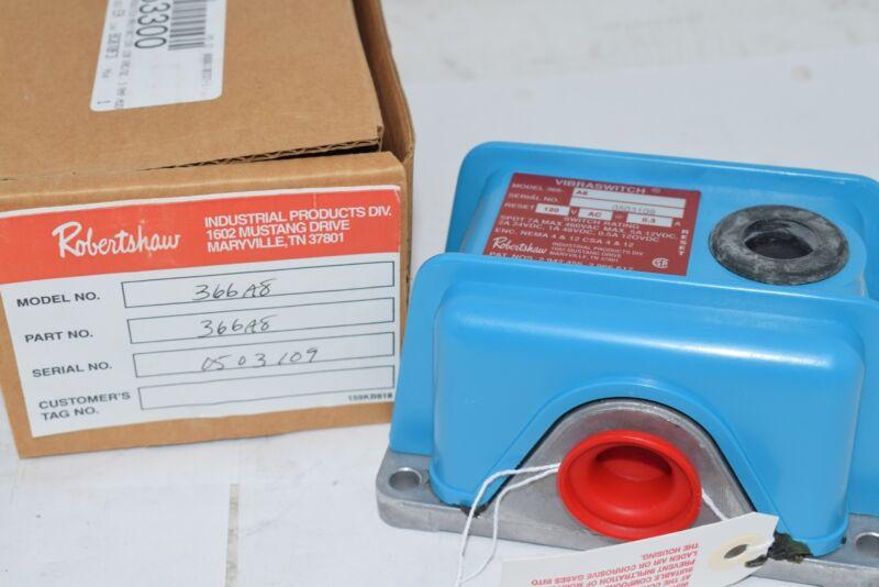 NEW ROBERTSHAW 366A8 Vibration Switch, SPDT, 0.5-7A, 120VAC