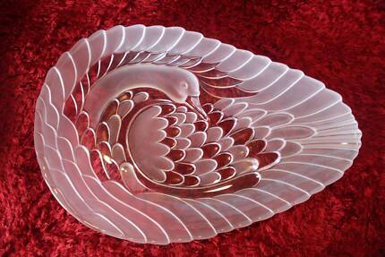 Glass platter Genuine Waltherglas Never Used