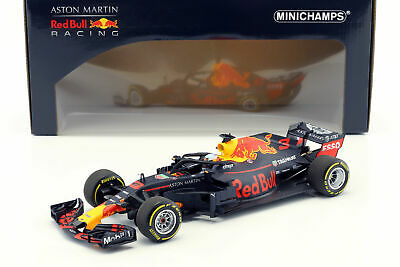 1/18 2018 DANIEL RICCIARDO TAG HEUER RED BULL RACING F1 RB14 AUS GP MINICHAMPS