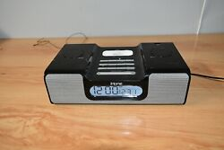 iHOME iH6 DUAL ALARM CLOCK RADIO FOR iPOD WITH REMOTE