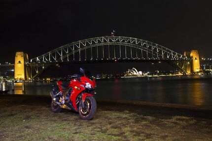 CBR 500R ABS (LOADED WITH ACCESSORIES) LAMS