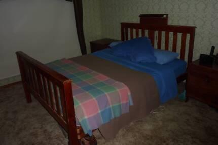 Queen Size Slat Bed