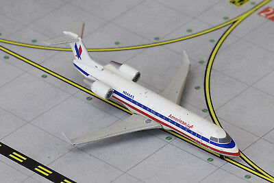 GEMINI JETS AMERICAN EAGLE BOMBARDIER CRJ200 GJAAL1272 1:400 REG# N866AS. New