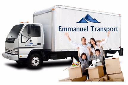 Removalists Perth - from $42.5* per 1/2H  Emmanuel Transport