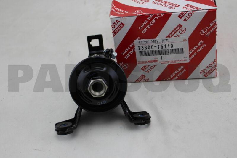 2330075110 Genuine Toyota Filter, Fuel(for Efi) 23300-75110
