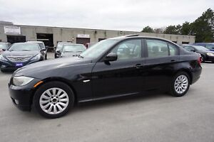 2009 BMW 3-Series 323i 6Spd CERTIFIED 2YR WARRANTY LEATHER SUNRO