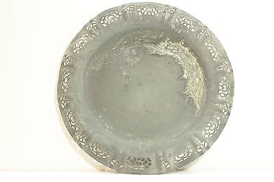 Old Plate from Zinc