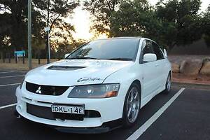 Mitsubishi Lancer Evolution VIII 8 Cabramatta West Fairfield Area Preview