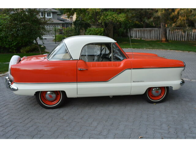Nash : Other Metropolitan BEAUTIFUL 1961 NASH METROPOLITAN 2-DOOR COUPE - ONLY 67,483 ORIGINAL MILES