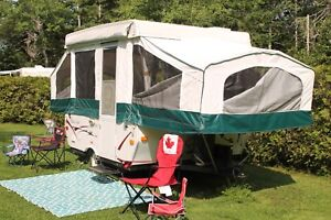 2008 Real Lite Pop up tent trailer