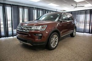 2018 Ford Explorer XLT Leather Seats, Twin Panel Moonroof, Po...