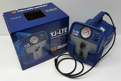 Yellow Jacket 95730 Yj-lte Refrigerant Recovery Machine Hvac-r Tool