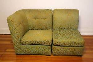 Vintage green couch Petersham Marrickville Area Preview