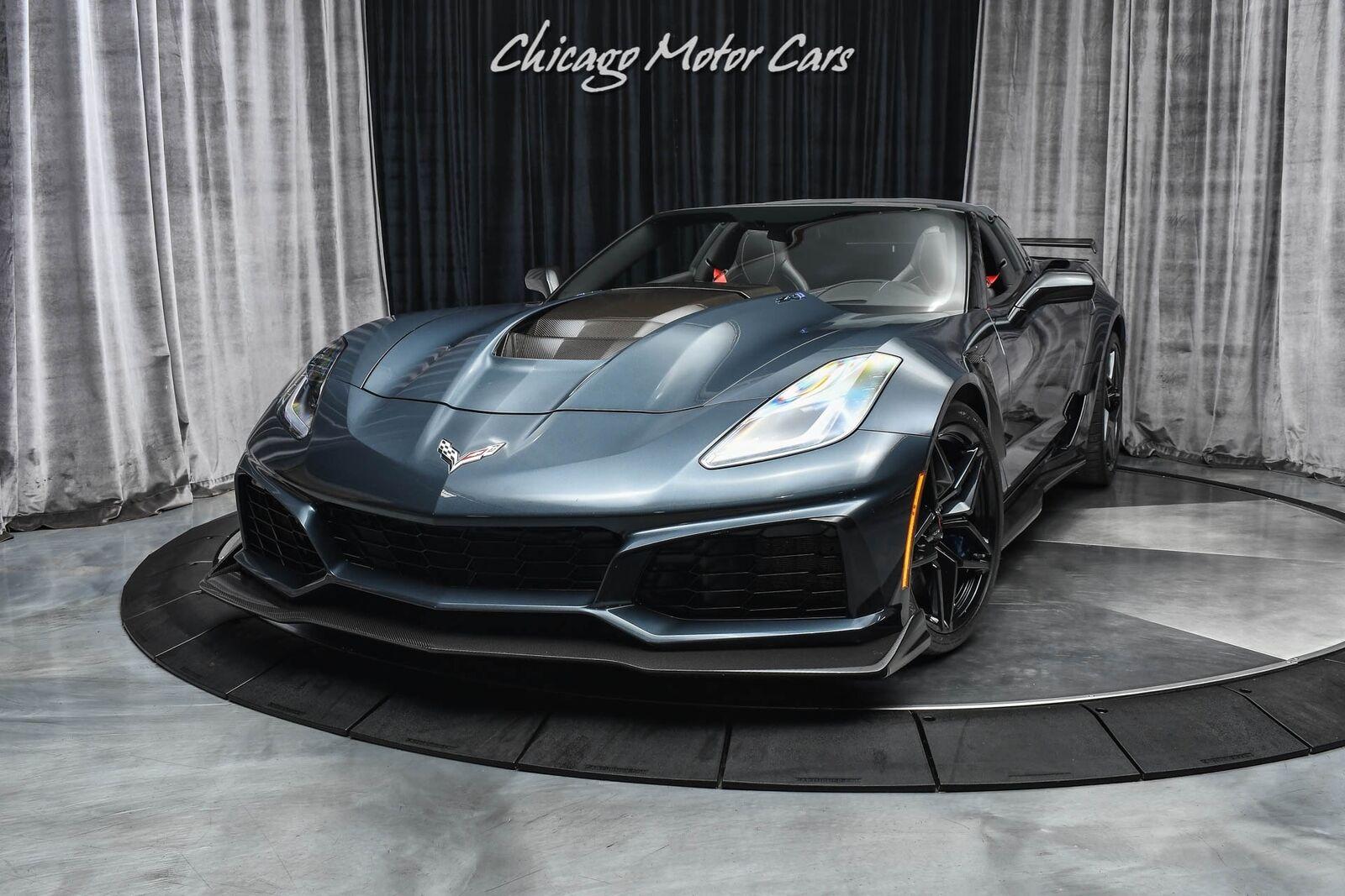 2019 Gray Chevrolet Corvette ZR1  | C7 Corvette Photo 2