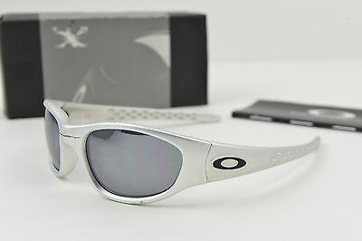 Oakley TEN X Full Metal FMJ 5.56/Black Iridium Sunglasses #04-223 w/original (Oakley X Ten)
