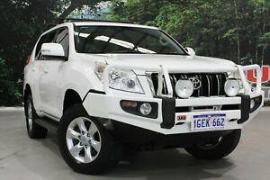 2011 Toyota Landcruiser Prado KDJ150R GXL (4x4) White 5 Speed Sequential Auto Wagon