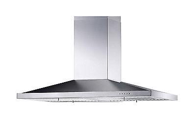 "30"" European Style Stainless Steel Chimney Home Kitchen Range Hood Exhaust"