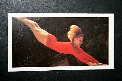 Women Gymnast  Vera Caslavska  Czechoslovakia   Photo Card  VGC