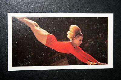 Gymnastics  Vera Caslavska  Czechoslovakia   Photo Card  VGC