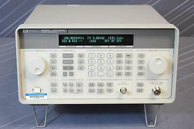 Keysight Hp 8648c 1e6 Synthesized Signal Generator 9khz-3200mhz Calibrated