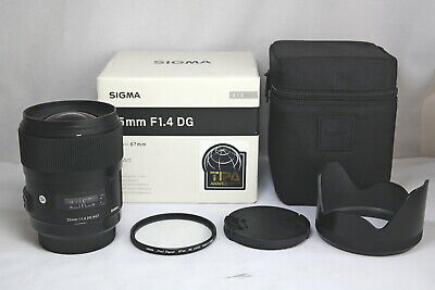 Sigma art 35mm F/1.4 Lens For Sony A mount full frame