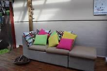 Outdoor Cane Sofa Sans Souci Rockdale Area Preview