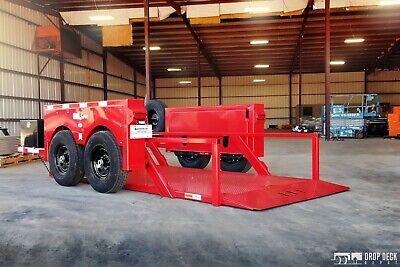 2021 Hgl10612 Hydraulic Drop Deck Scissor Lift Trailer 6 X 12 - Drop Deck Depot