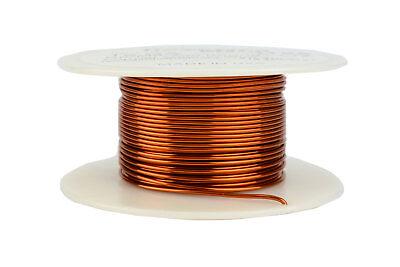 Magnet Wire 125ft Red gauge 155C Enameled Copper 19 AWG 1//2 lb