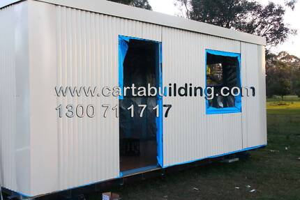 Portable Building 6 M x 3 M (With 4-Sided Light & Ventilation) Bringelly Camden Area Preview