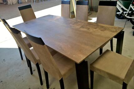 Designer Marble 8 Seat Dining Table Singleton Singleton Area Preview