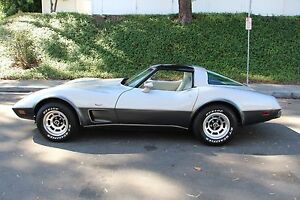 1978 Chevrolet Corvette Coupe Silver Edition (Automatic) Kinross Joondalup Area Preview