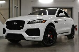 2018 Jaguar F-Pace S AWD *Driver Pack + Black Pack + 380 chevaux