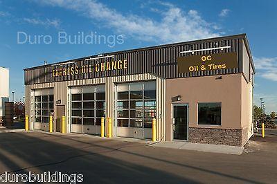 Durobeam Steel 30x80x15 Metal I-beam Garage Building Shops Made To Order Direct