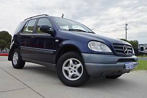 Luxury - Mercedes-Benz ML320 - 4WD - Full leather - Sunroof Wangara Wanneroo Area Preview