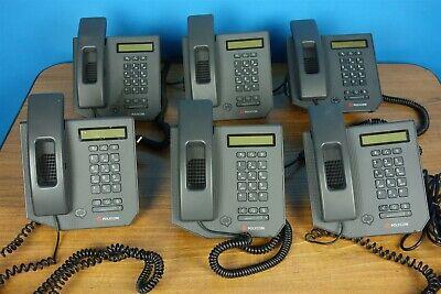 Lot Of 6 Polycom Cx300 Business Desktop Voice Phones Microsoft