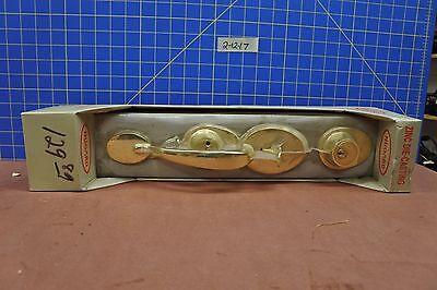 Nugard Brass Keyed Entry Lock Set