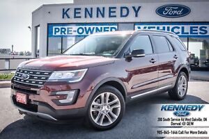 2016 Ford Explorer XLTAWD Navi Camera 6 Pass Leather