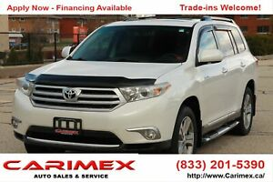 2012 Toyota Highlander V6 Limited 7 Passengers | NAVI | Leath...