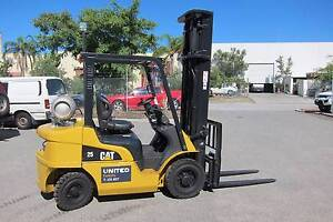 CAT 2.5t Forklift Malaga Swan Area Preview