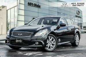 2010 Infiniti G37x SPORT! LOW KMS! NO ACCIDENTS! CERTIFIED!