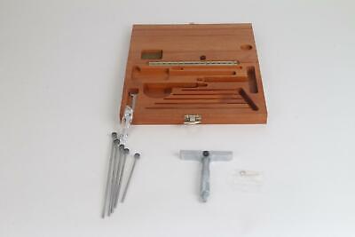 Mitutoyo 129-132 0 - 6 X .001 Depth Micrometer 4 Base Incomplete 950-909