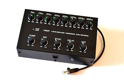 8 Band Sound Equalizer Compressor Echo to ICOM IC-703 IC-706 IC-7000 IC-7100 for sale  Shipping to Canada