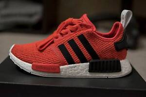 Adidas NMD R1 Glitch Red US5 Womens Northfield Port Adelaide Area Preview