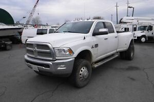 2014 Dodge RAM 3500 Laramie Longhorn Crew Cab Long Box Dually Di