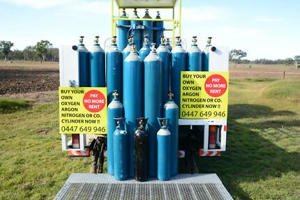 MIG & TIG CYLINDERS FOR SALE  --- PAY NO MORE RENT