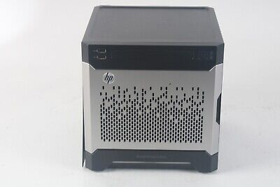 HP MicroServer Gen8 Server / 1x E3-1280 V2 @ 2.30GHz / 0 HDD/ NO RAM