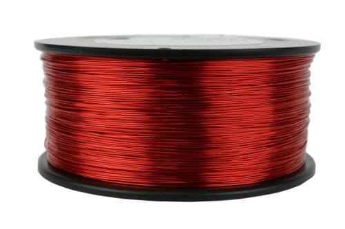 TEMCo 24 AWG Gauge Enameled Copper Magnet Wire 1.5lb 155C 1185ft Coil Winding